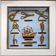 Mayflower Sailor's Knotboard