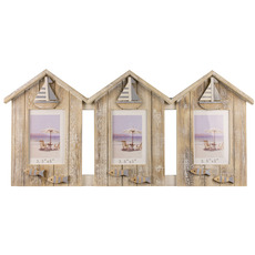 Beach Huts Photo Frame