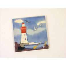 Lighthouse and Boat Pot Rest