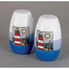 Two Tone Salt & Pepper Pots
