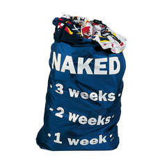 'NAKED' Laundry Bag
