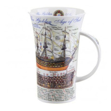 Fine Bone China Glencoe Golden Age of Sail Mug