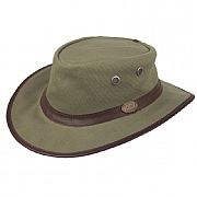 Rogue Canvas Bush Hat with Sun Protection Factor up to SPF 50