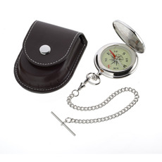 Chrome-plated Full Hunter Compass