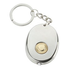 Stainless Steel Microtorch Keyring