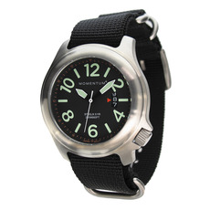 Award Winning Momentum Watch is Simple, Legible and Dependable