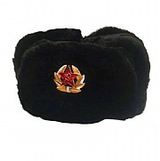 "Unisex Soviet ""Ushanka"" Hats Made from Faux fur"