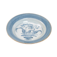 Tek Sing Chrysanthemum Dish, 6in. Diameter