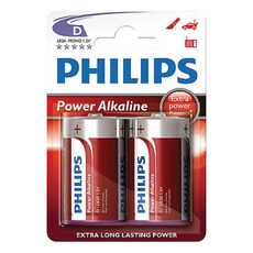Philips Batteries - 2xD