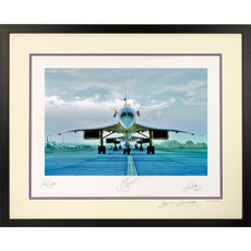 Concordes - The Last line-Up - Hand Signed by the Pilots