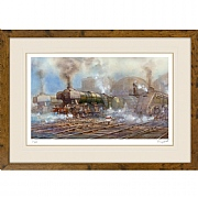 The Mighty Flying Scotsman Print
