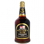 Royal Navy Pusser's Gunpowder Proof Rum at 54.5%abv