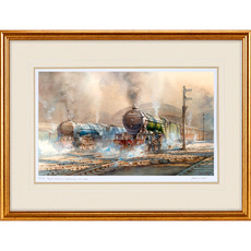 Limited Edition of 100 - Papyrus A3 60096 Locomotive Watercolour