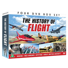 The History of Flight in Four DVD Set: Boeing, Red Arrows, Spitfire & Great British Aircraft