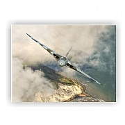 Limited Edition XH558 Vulcan Bomber Flying Over Beachy Head on Her Last Tour Print or Canvas
