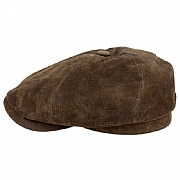 Stetson Vintage-Style Leather Cap