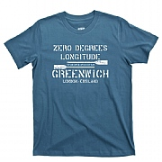 Greenwich Longitude T-Shirt