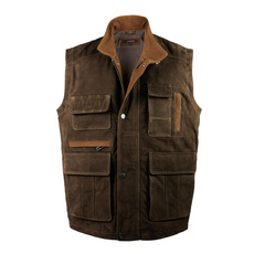 Hunter Leather Gilet - A Practical Sleeveless Jacket