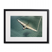 Vulcan Turning on The Power Framed Print