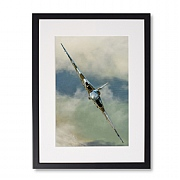 Vulcan on a Knife Edge Framed Print