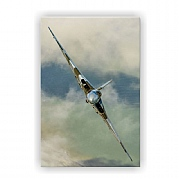 Vulcan on a Knife Edge Canvas Print