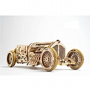 Rubber Band-Powered 1930s Grand Prix Car Kit