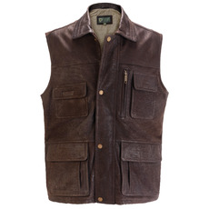Leather Gilet