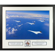 Concorde South Coast Print - Possibly the World's Most Expensive Promotional Photograph*