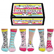Ladies' 'Be a Unicorn' Boxed Socks