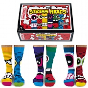 Men's 'Stress Heads' Boxed Socks