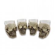 Skull-shaped Shot Glasses