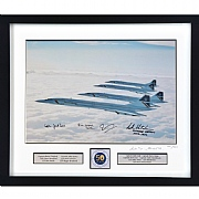 Limited Edition Four Concordes Signed Print