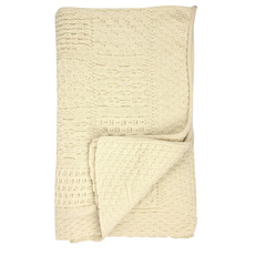 Merino Wool Patchwork Throw