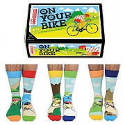 Men's 'On Your Bike' Boxed Socks