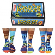 Men's 'Load of Pollocks' Boxed Socks
