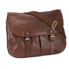 Gamekeeper's Bag made from Top-quality Leather - Soft but Durable