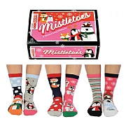 Ladies' 'Mistletoe' Boxed Socks