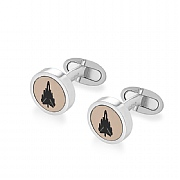 Limited Edition Tornado GR4 ZG750  Silver Cufflinks