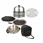 The Complete Set - Stainless Steel Cobb Barbecue