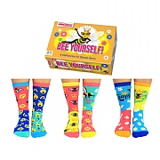 Ladies' 'Bee Yourself' Boxed Socks