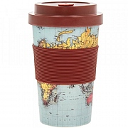 World Traveller Mug made from Bamboo