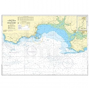 Admiralty Chart Prints 1076 - Linney Head to Oxwich Point