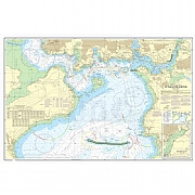 Admiralty Chart Prints 1967 - Plymouth Sound