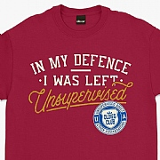 "Oldies Club ""I Was Left Unsupervised"" T-Shirts"