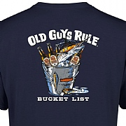 "Old Guys Rule ""Bucket List"" T-Shirts"