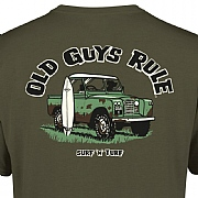 "Old Guys Rule ""Surf 'n' Turf"" T-Shirts"