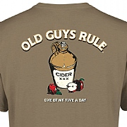 "Old Guys Rule ""Five a Day"" T-Shirts"