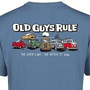 "Old Guys Rule ""Parking Lot, The Better it Was"" T-Shirts"