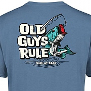 "Old Guys Rule ""Kiss my Bass"" T-Shirts"