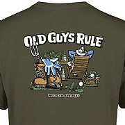 "Old Guys Rule ""Weed 'Em & Reap"" T-Shirts"